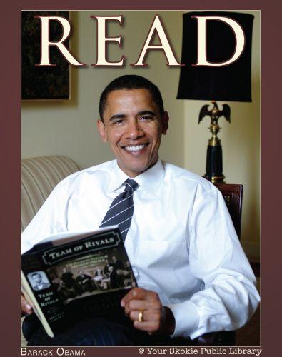 President Obama reads!
